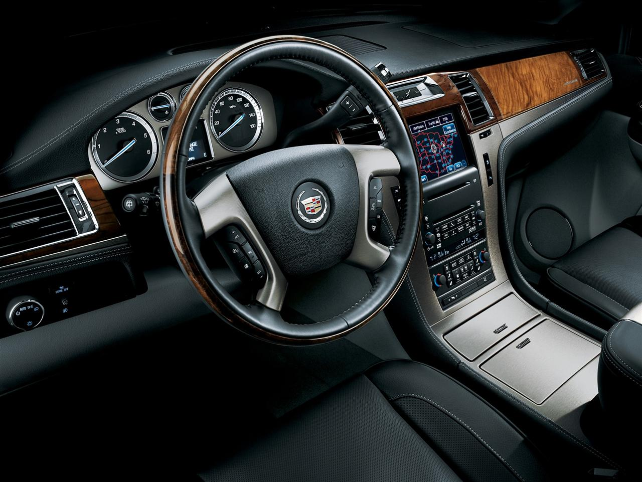 Cadillac Escalade Esv 2012 Interior Wooden Panel Pic Picture Download Tenafly Limousine